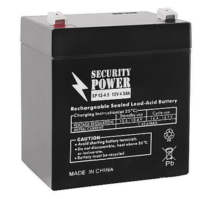 Аккумулятор 12V/4.5Ah Security Power SP 12-4,5
