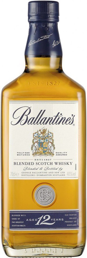 Ballantines 12 Years Old