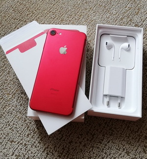 Новый Iphone 7 Red 128GB 10/10