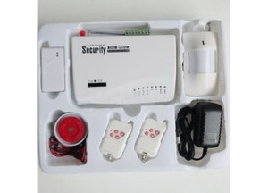 Беспроводная GSM сигнализация Security Alarm System новая