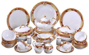 Buy a Microwave Denso Dinner set(24 pcs ) at just rs.400